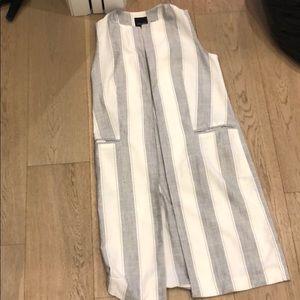 New look stripped vest sleeveless
